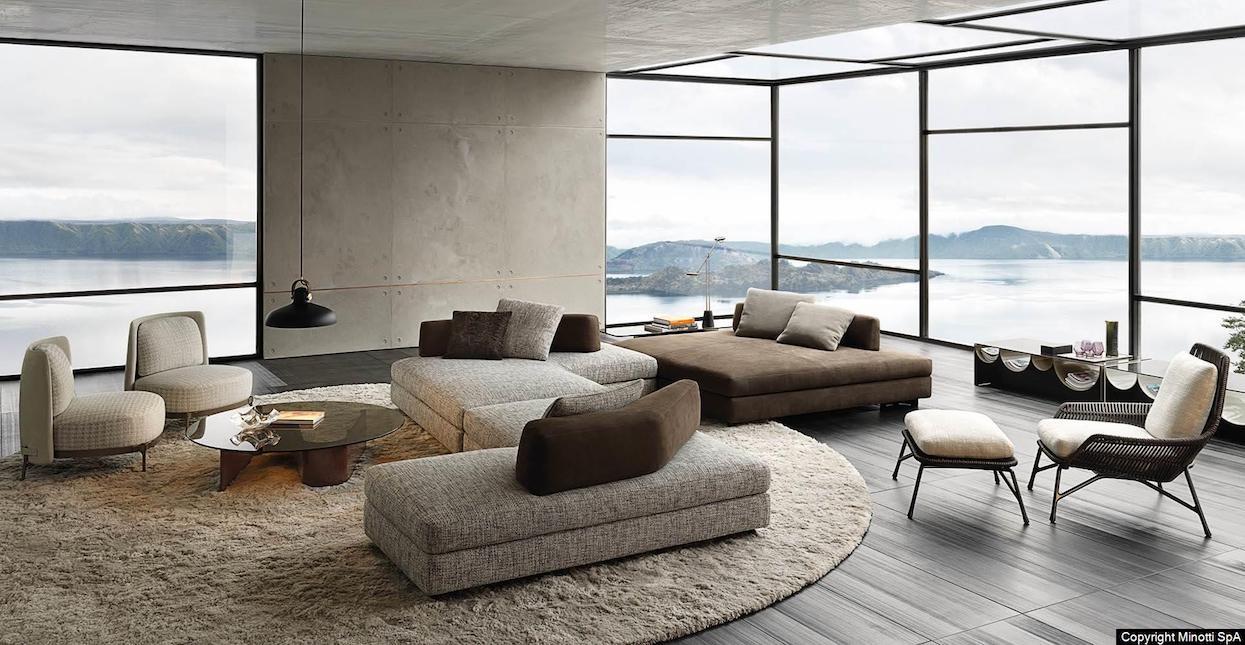 Minotti Granville Sofa - Hospitality