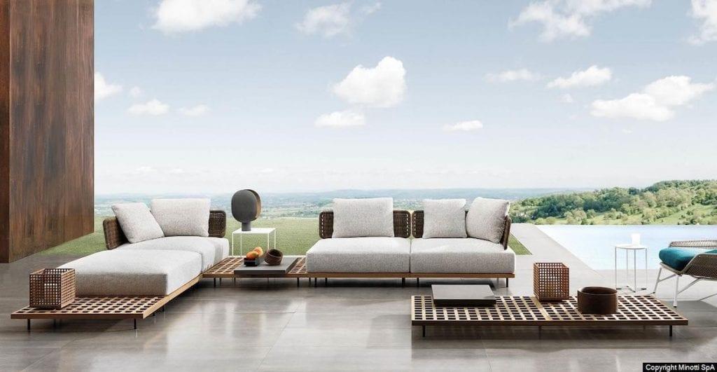 Minotti Quadrango Modular sofa