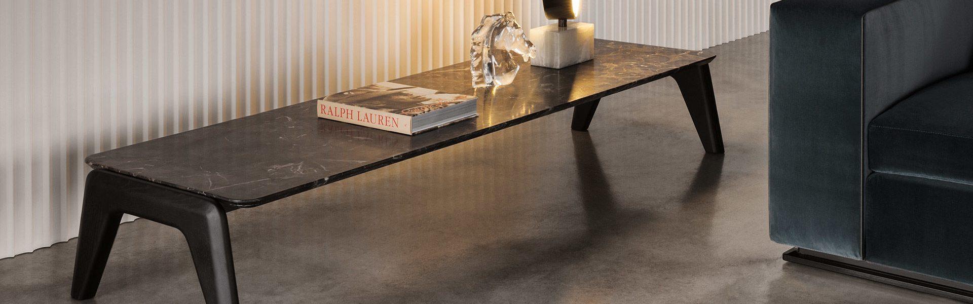 Kirk Wood Coffee Table