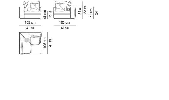 CORNER ELEMENT CM 105X105