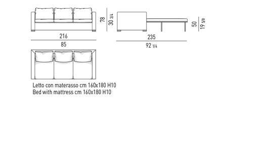 SOFA BED CM 216