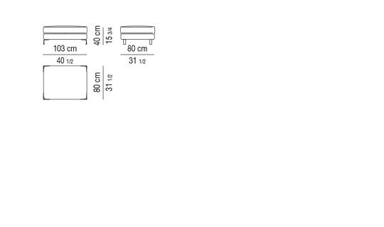 STOOL CM 103X80