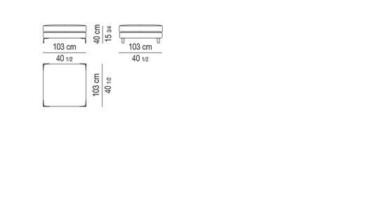 STOOL CM 103X103