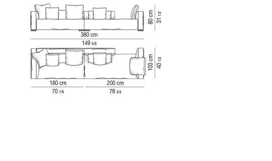 COMPOSED SOFA  CM 380