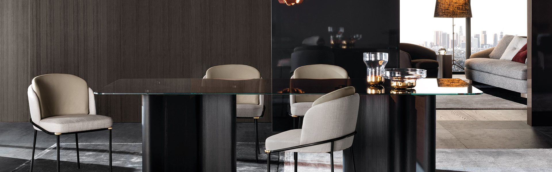 Fil Noir Dining Chair