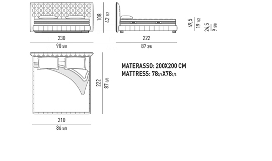 BED CM 230