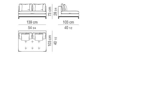 SOFA ELEMENT CM 139