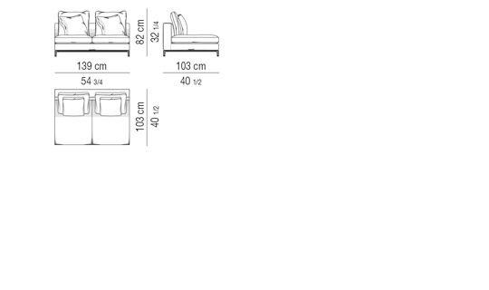 SOFA ELEMENT CM 139