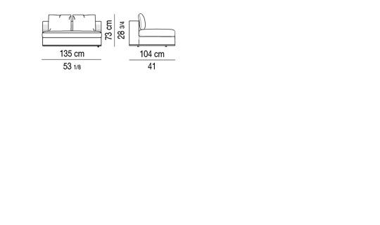 HAMILTON - Central element cm 135