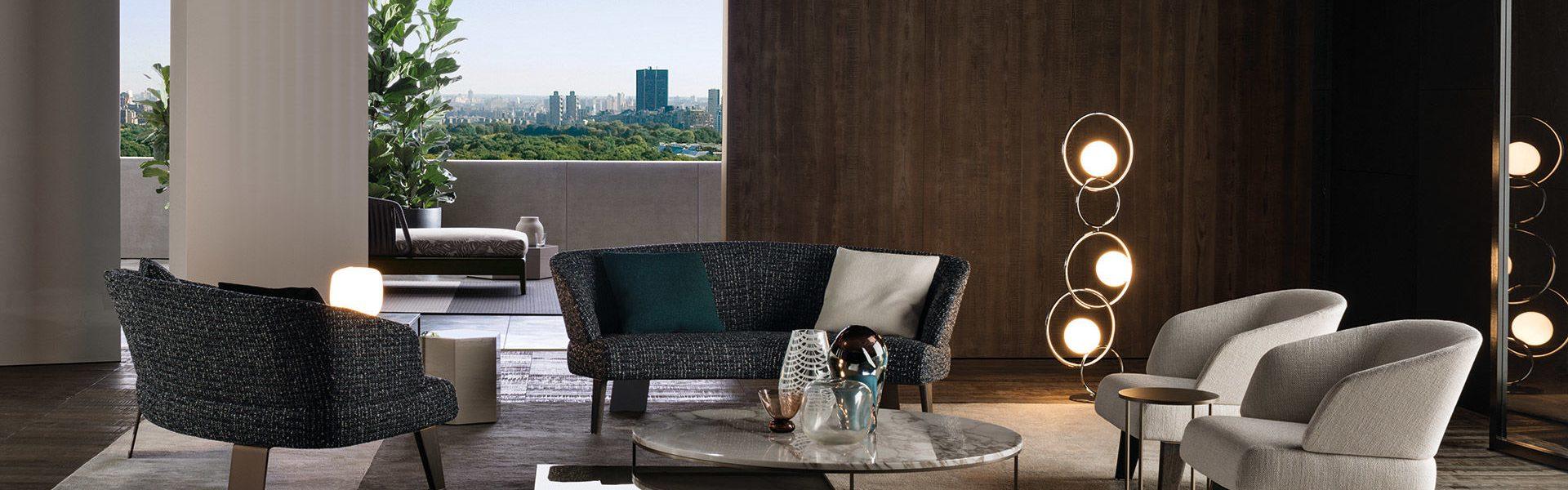 Reeves Semi-round Lounge Sofa