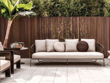 "Aston ""Cord"" Outdoor Sofa"