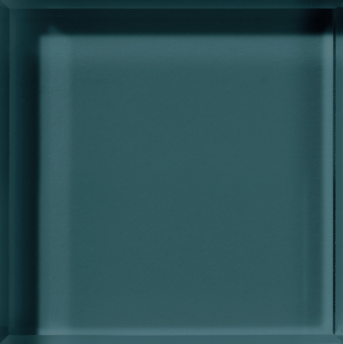 Teal Backpainted