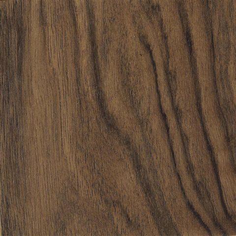 Glossy polyester burled walnut