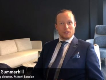 Interview: Minotti London &  the Hospitality Sector