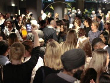 The 2019 collection launch party at Minotti London.