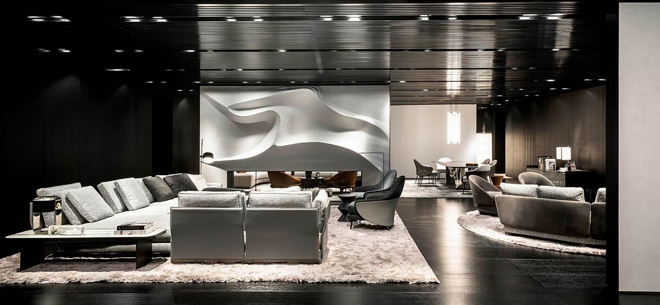 Minotti at IMM Cologne in 2020