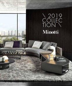 minotti 2019 catalogue