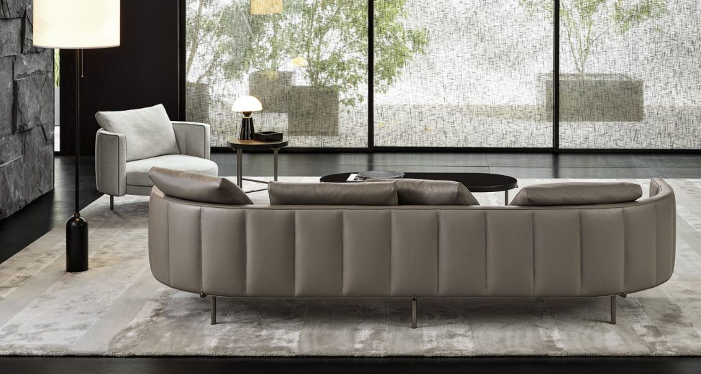 minotti london leather