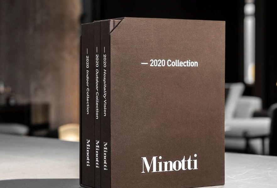 Minotti 2020 Catalogue – Reserve a copy