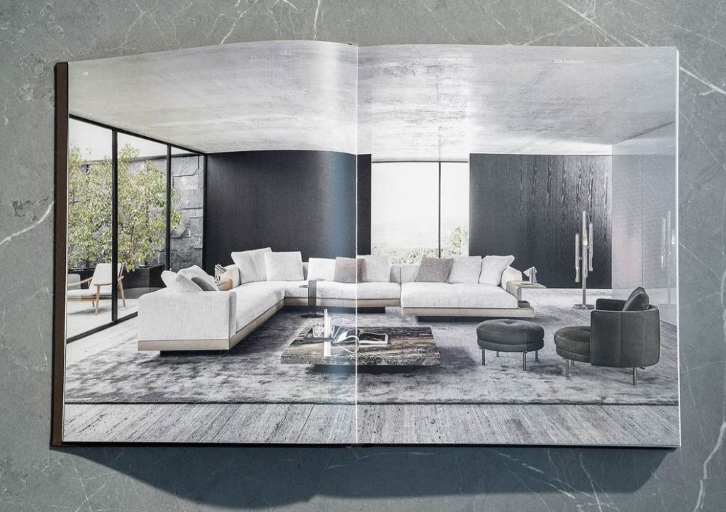 minotti 2020 catalogue