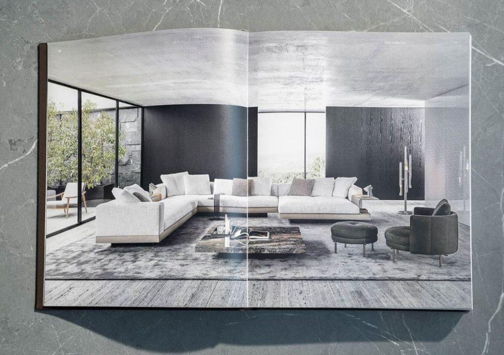 minotti 2020 catalogue